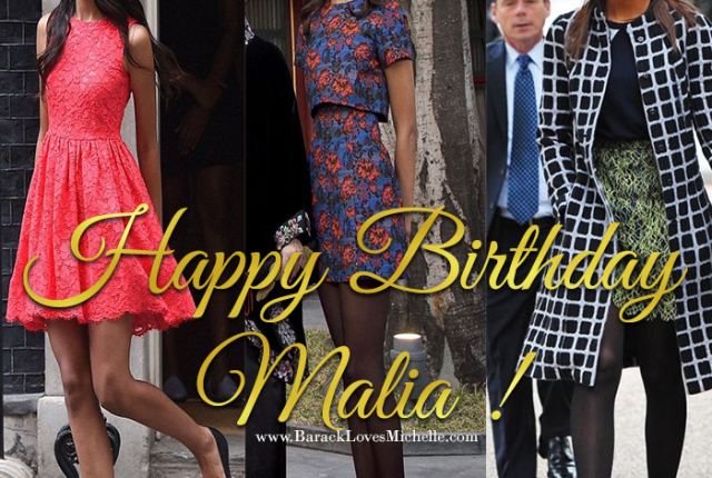 happy birthday maila obama