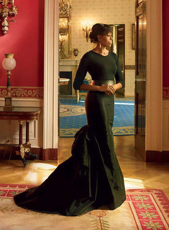 first lady vogue magazine