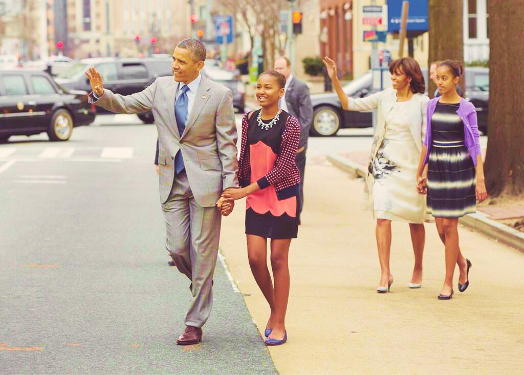 obama family easter