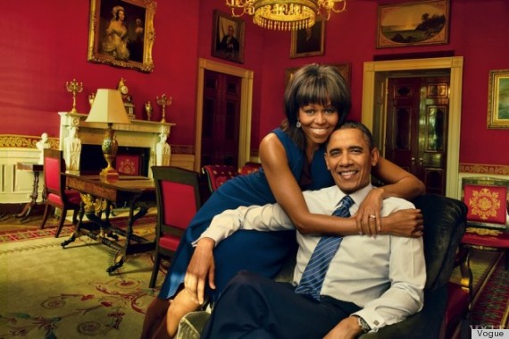 president and first lady vogue magazine