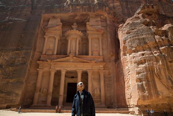 president obama tour of petra