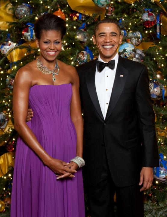 first lady christmas 2009