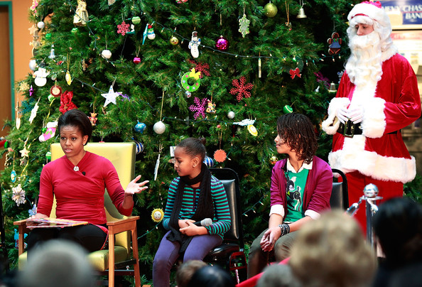 michelle obama christmas 2009