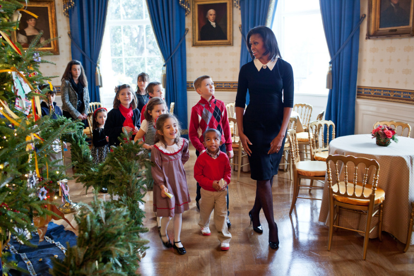 michelle obama christmas 2011