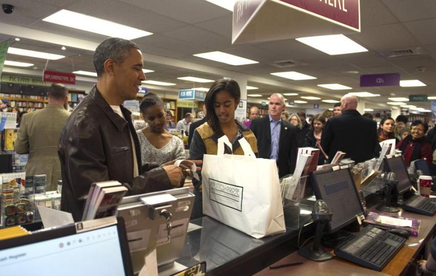 president obama politics and prose
