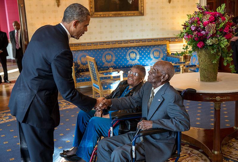 president obama richard overton