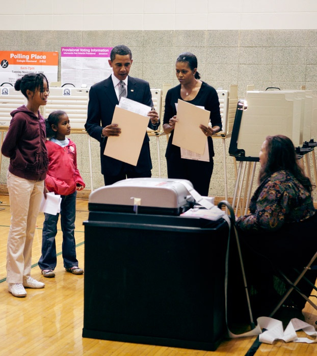 2008 casting ballot