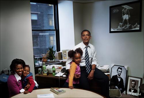 annie leibovitz obama family photos