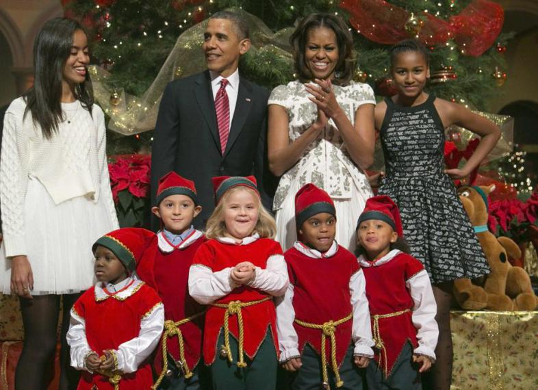 first family christmas in washington