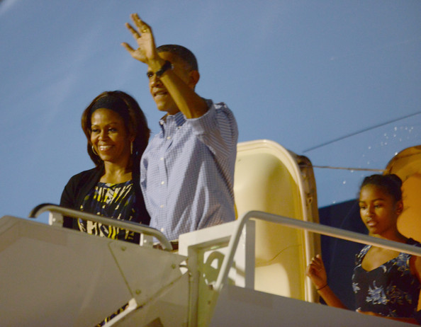 michelle obama hawaii 2013