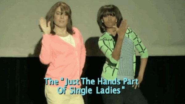 michelle obama mom dancing