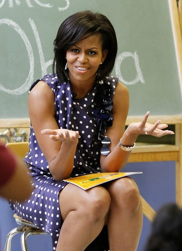 michelle obama why you mad tho