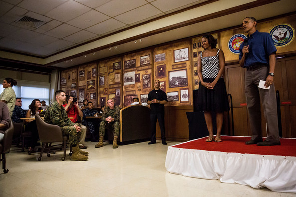 obama marine corps base hawaii