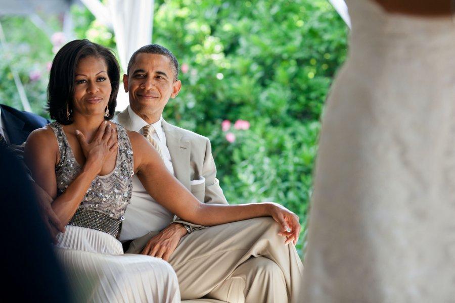 obamas at wedding