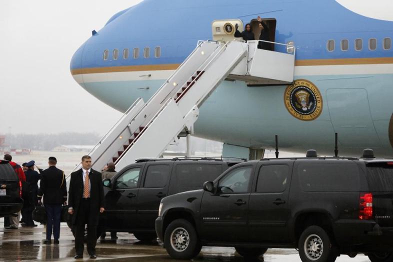 president obama south africa trip