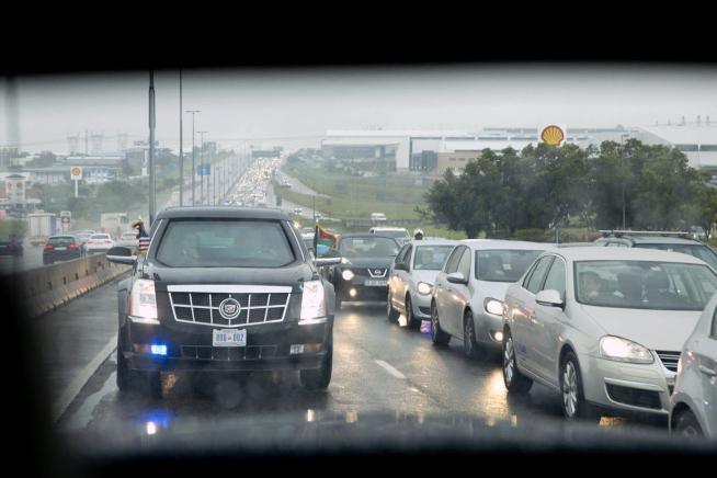 presidents motorcade