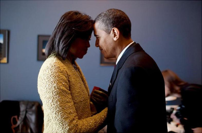 barack and michelle 2009