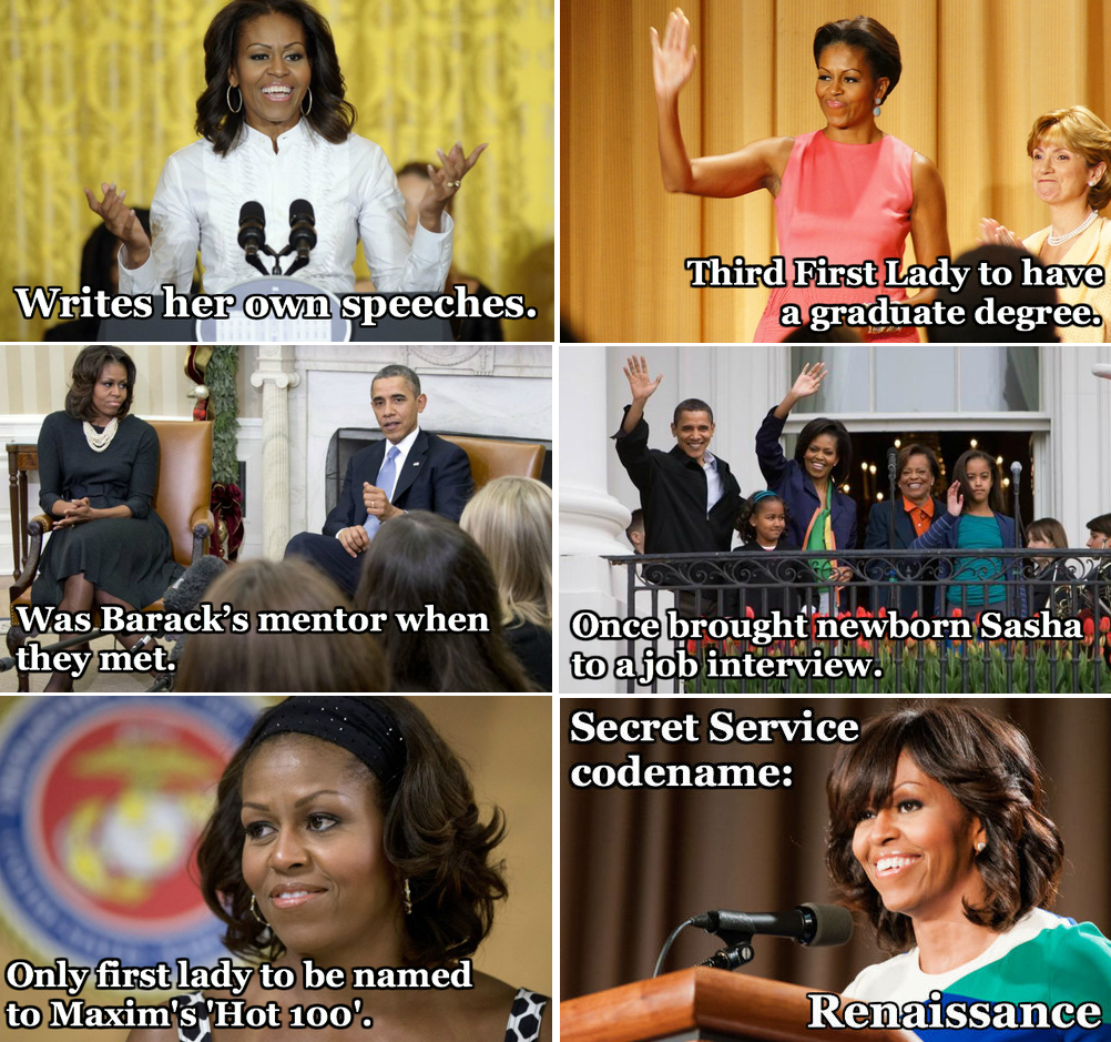 facts about michelle obama