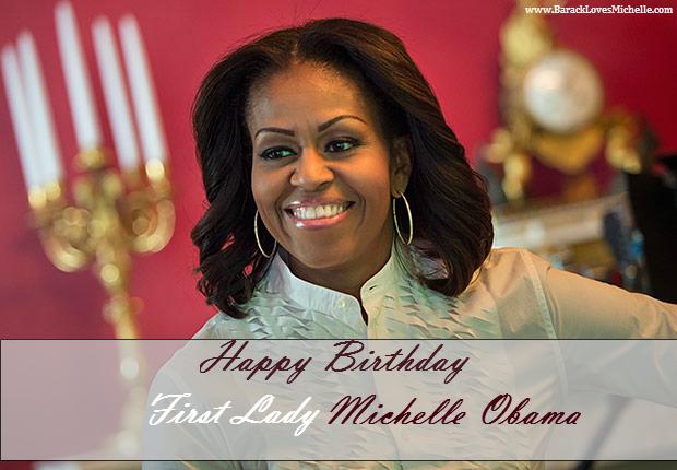 michelle obama birthday