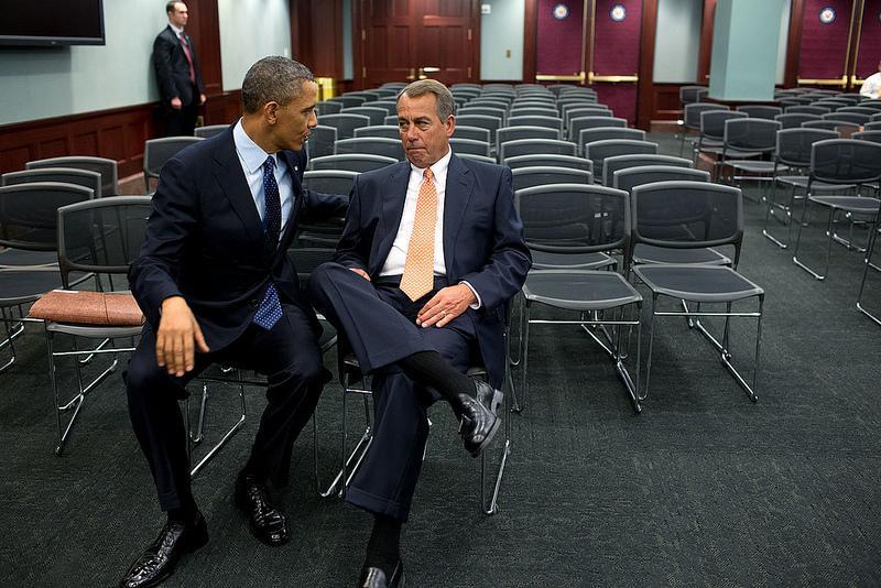 obama and john boehner