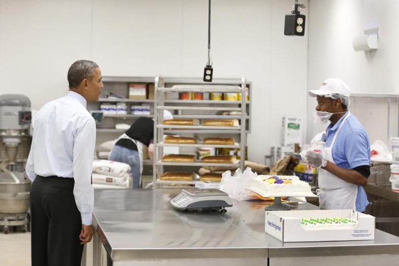 obama costco raise minimum wage