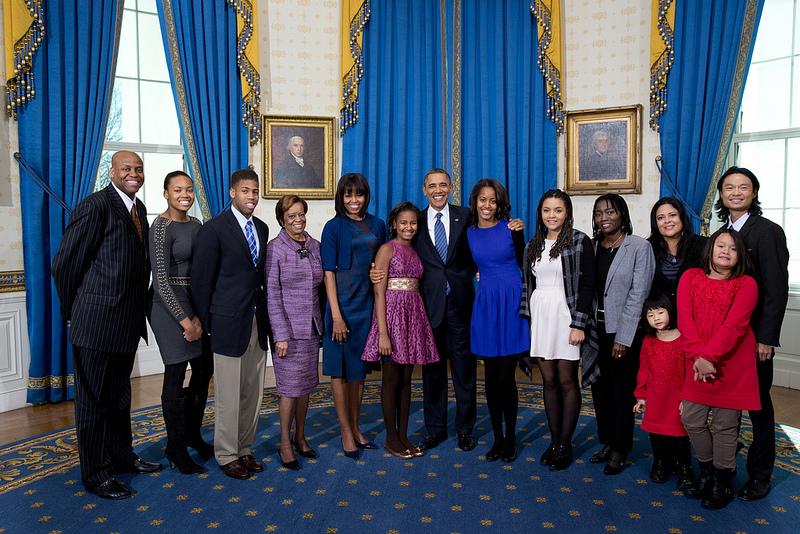 obama extended family