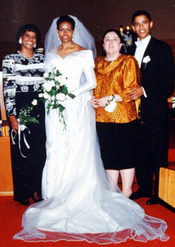obama wedding