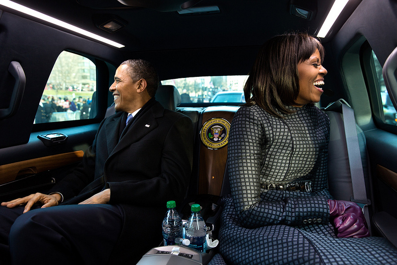 obamas in the beast