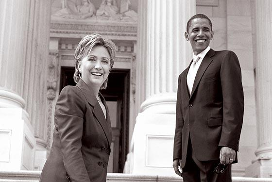 senator barack and hil2