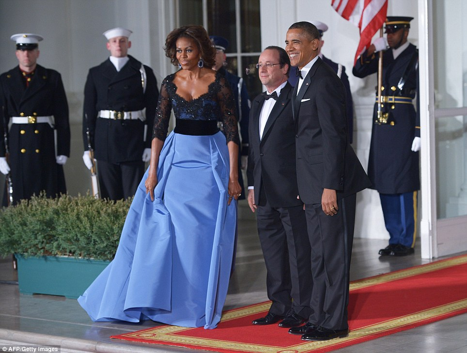 hollande and the obamas