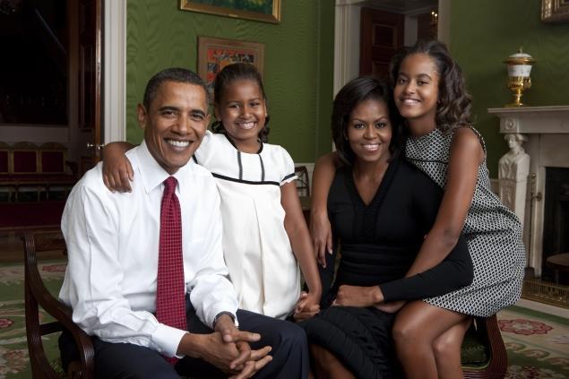 obama family 2009