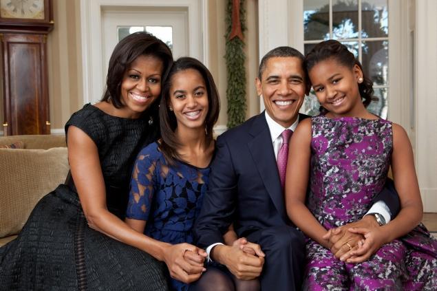 obama family 2011