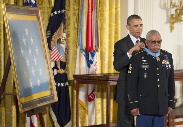 Barack Obama, Melvin Morris