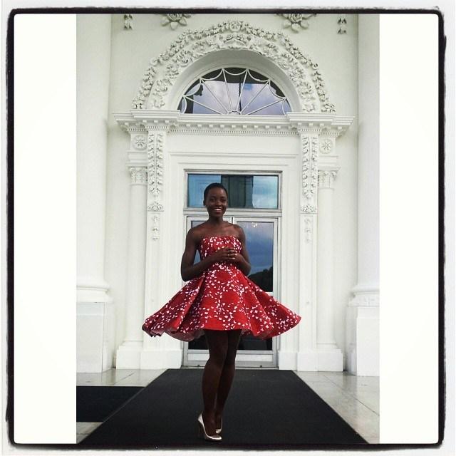 lupita nyongo white house