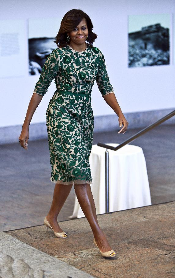 michelle obama the met