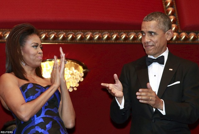 first lady kennedy center honors 2015